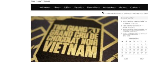 De webshop van evenmorethee.nl werd opgezet door Protagonist.